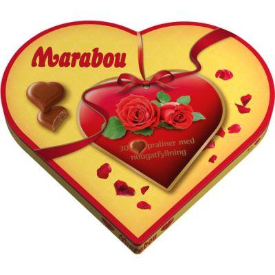 Bild av Marabou Hjärtan 165g