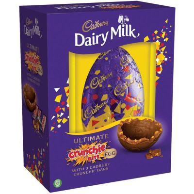 Bild av Cadbury Crunchie Luxury Shell Egg 570g