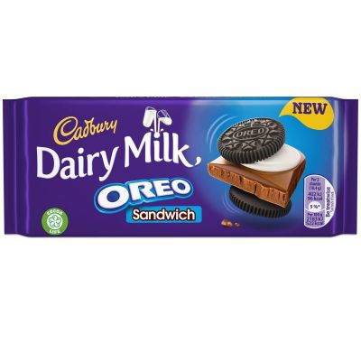 Bild av Cadbury Dairy Milk Oreo Sandwich 92g