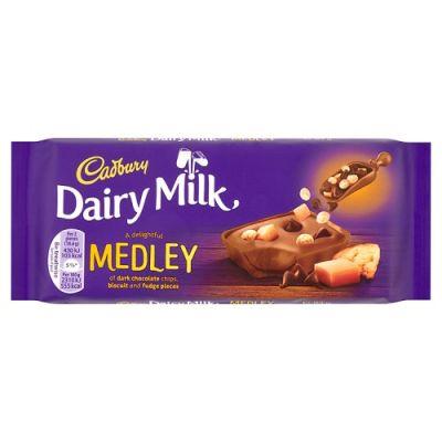 Bild av Cadbury Dairy Milk Medley Fudge 93g