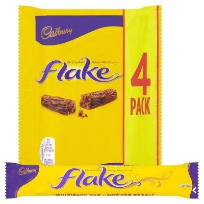 Bild av Cadbury Flake 4 Pack 80g
