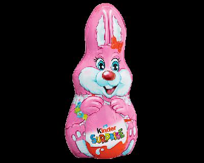 Bild av Kinder Surprise Bunny Pink 75g
