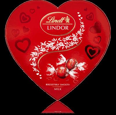 Bild av Lindor Hjärta mjölkchoklad 200g