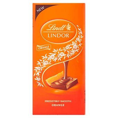 Bild av Lindor Orange Bar 100g