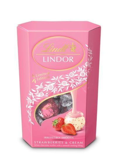 Bild av Lindor Strawberries & Cream 200g