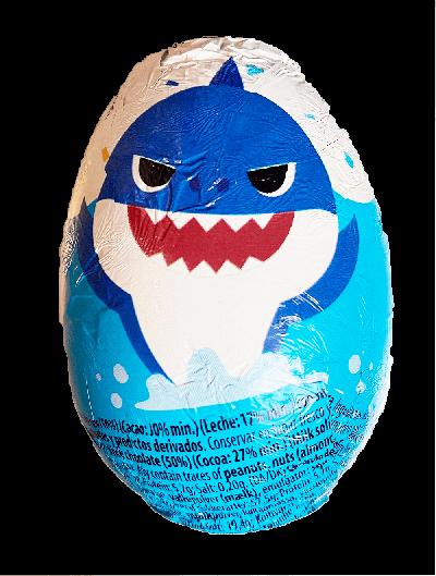 Bild av Baby Shark Chokladägg