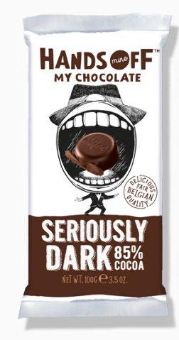 Bild av Hands Off My Chocolate Seriously Dark 85% Cocoa 100g