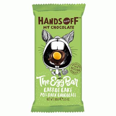 Bild av Hands Off My Chocolate - The Egg Bar Carrot Cake 70% Dark Chocolate 105g