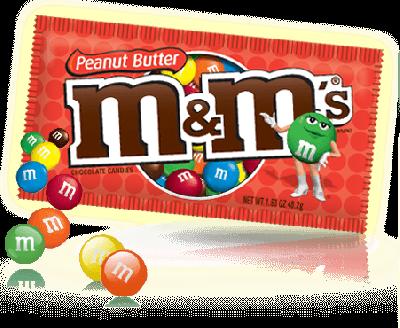 Bild av M&Ms Peanut Butter 48gram