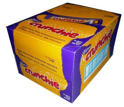 Bild av Cadbury Crunchie 38g x 48st