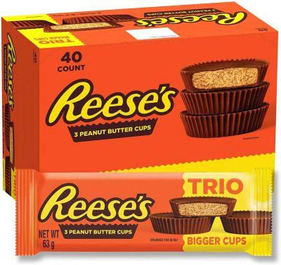 Bild av Reeses Peanut Butter Cups 63g x 40st