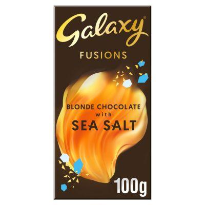 Bild av Galaxy Fusions Blonde Choc with Sea Salt 100g