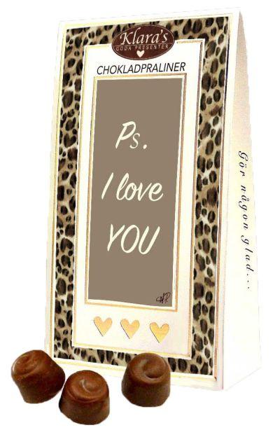 Bild av PS I Love You - Lyxiga chokladpraliner