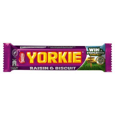 Bild av Nestle Yorkie Raisin & Biscuit 44g